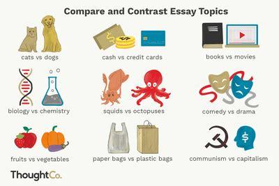 Write comparison thesis paper